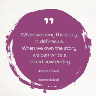 Your stories are significant because of the meaning we choose to give them. To rewrite your story, piece apart what is true and not true. What are the facts and what is the meaning you have created around those facts. When you are able to see the difference and separate the facts from the story, you are able to begin living a new story with new meaning.  #motivationalmonday #charlottecounseling #liveyourstory #ownyourstory